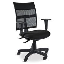 Cadeira Executiva Em Tela Ergonômica Back System Com Braços