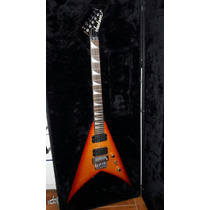 Guitarra Jackson Japón King V Con Set Emg Permuto