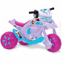 Moto Elétrica Infantil Menina Frozen Zx Disney Bandeirante