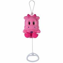 Brinquedo Musical Infantil Hipopótamo Rosa - Pimpolho