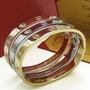 Pulsera Cartier Acero Quirúrgico Tamaño Mujer