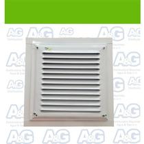 Rejilla De Ventilacion 20x20 Con Marco Gas / Construccion