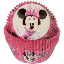 Capacillos Para Ponquesitos (cupcake) Minnie Mouse X50