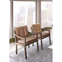 Cadeira Decorativa Vivara Kit C/2 Mobillare