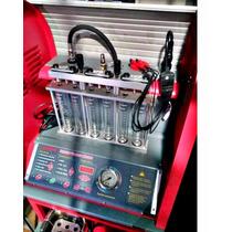 Máquina Automotiva Para Reparo De Injeção Eletrônica Launch