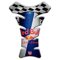 Adesivo Protetor Tanque Tank Pad Moto Speed Style Red Bull