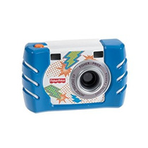 Juguete Fisher-price Kid-tough Cámara Digital, Azul