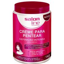 Creme Para Pentear Definição Intensa - 1kg - Salon Line