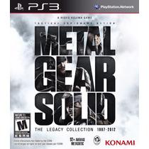 Video Juego Ps3 3 Metal Gear Solid Legacy Collection Nuevo