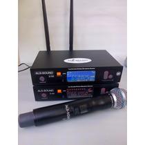 Microfone Sem Fio Uhf Melhor Q Shure Pgx E Slx ,akg Pw45
