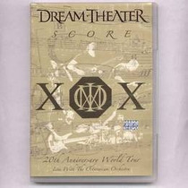 Dream Theater Score Dvd 20th Anniversary World To Dvd Nuevo