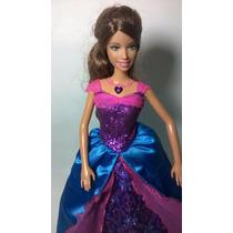 Boneca Barbie Castelo De Diamantes Princesa Alexa Que Canta