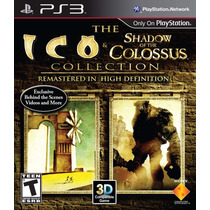 Ico & Shadow Of The Colossus - Ps3 Novo Lacrado