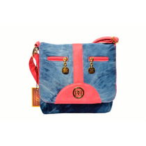 Cartera Jeans Bellagio Bags Color Rosado