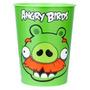 Vaso Plástico Importado Cotillon Angry Birds