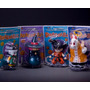 Dragon Ball Set 4 Figuras Goku Gohan Uranai Baba Y Chaos