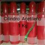 Cilindro De Acetileno(novo) 1 Kg (vazio)