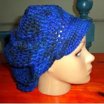 Boina Estilo Jenyfer Lopes Tejido A Crochet ...!!!