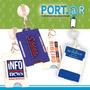 Porta Sube®, Monedero®, Porta Credencial Con Yoyo Retractil