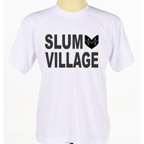 Camiseta Camisa Personalizada Slum Village Grupo De Hip Hop