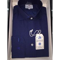 Camisas Monaco Slim Fit Talle: S - M - L - Xl - Mang.largas