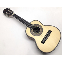 Cavaco Arias Luthier Tampo Pinho Lateral Cedro Musical Baruk