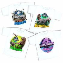 10 Playeras Jurassic World Personalizadas Envío Gratis