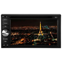 Dvd Player Roadstar 6.2 Duble Din Dvd Usb Sd Tv E Bluetooth