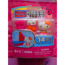 Hello Kitty Set De Figura Con Barco De Mega Blocks