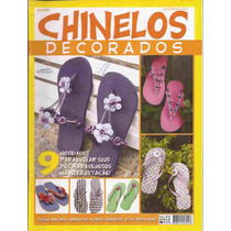 Artesanato - 2 Revistas Chinelos Decorados Nº 03 E 01