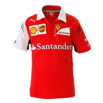 Remate Polo Oficial Scudería Ferrari Formula 1