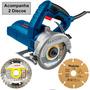 Serra Marmore 110v Bosch Gdc150 1d Diaman +1d Mad Makita