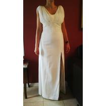 Vestido De Fiesta Blanco, De Novia O 15 Años