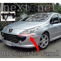 Kit Guia Suporte Farol Dianteiro Peugeot 307 -82