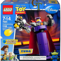 Lego 7591 Toy Story Zurg Edicion Limitada 118 Pzs Original !