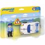 Coche De Policia Playmobil 123 Patrullero