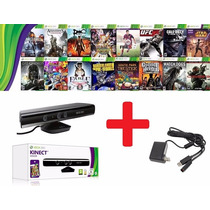 Kinect Sensor Xbox 360 + Jogo +brinde Pronta Entrega E-sedex