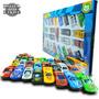 Kit Com 25 Mini Carrinhos Roda Livre