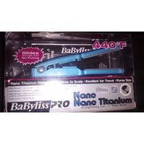 Mini Plancha Babyliss Pro Nano Titanium 1/2 Original