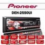 Reproductor Carro Pioneer Deh-2550ui Original Mp3 Usb Nuevo