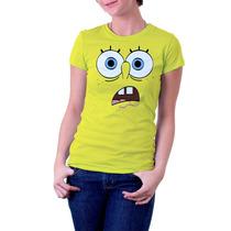 Camisa Camiseta Bob Esponja Dryfit 48,90
