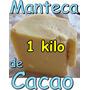 Manteca De Cacao 1 Kilo Alimenticio Chocolate Grasa Aceite