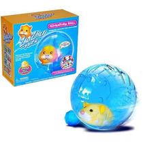 Juguete Esfera Hamster Zhu Zhu Pets Azul
