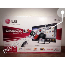 Lg Cinema Smart Tv Led 3d 42-inch 42lm7600 *6 Lentes*