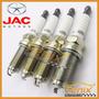 Jogo De Velas Ignição Original Jac Motors J2 J3 J5 Iridium