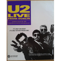Antigua Publicidad U2 Recital Dublin 1993 Billboard Bono