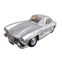 Miniatura Em Metal Carro Antigo Mercedes 300sl - Escala 1:24