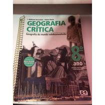 Livro Geografia Critica 8 Ano Otimo Estado