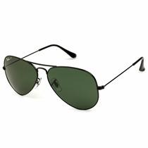 Gafas De Sol Ray Ban - Aviador Negro Unisex Original