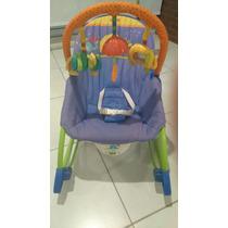 Cadeira De Balanço E Descanso - Fisher Price (semi-nova).